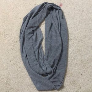 Grey Soft Infinity Scarf